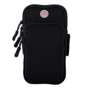 Sport Armband Waterproof Phone Holder Case Bag for 4-6 inch Phones(Black)