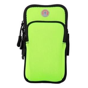 Sport Armband Waterproof Phone Holder Case Bag for 4-6 inch Phones(Green)
