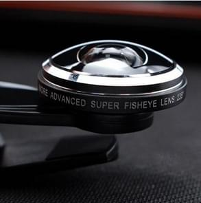 Super Fisheye Acrylic Lens Mobile Phone Universal Self-timer Special Effect Lens Mobile Phone External Lens(Black)