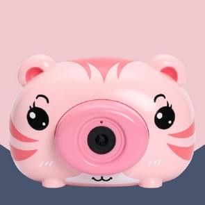 Kinderen Cartoon Camera Elektrische Bubble Maker Machine Speelgoed (Roze)
