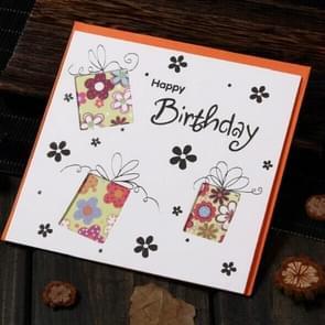 5 PCS Creative Cutout Mooie Verjaardag Swenskaart (Verjaardagscadeau)