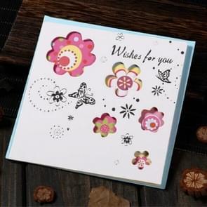 5 PCS Creative Cutout Mooie Verjaardag Wenskaart (Wensen voor)