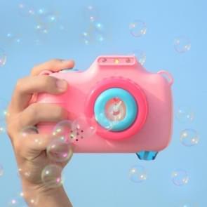Kinderen Outdoor Summer Automatic Bubble Machine Speelgoed met Lichte Muziek (Roze)