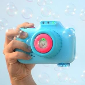 Kinderen Outdoor Summer Automatic Bubble Machine Speelgoed met Lichte Muziek (Blauw)