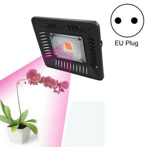 50W Ultra-thin LED Plant Light  Full Spectrum COB Growth Light  Vegetable  Fruit & Flower Greenhouse Fill Light With Plug  Specification:EU Plug