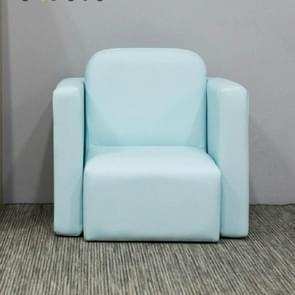 Kindere studie tafel en stoel sofa zetel combinatie jongen meisje schattige baby sofa stoel kinderen eetkamerstoel (blauw)