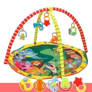 Kids Children Fitness Rack Game Blanket Crawling Carpet Mat Gym Toys Intellectual Development(Colorful)