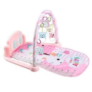 Multifunctionele vroege onderwijsspel kruipen deken voor baby (roze)