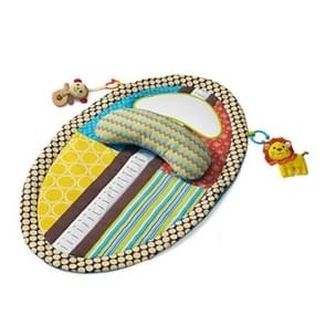 Baby gym kinderen waterdichte mat vroege onderwijs deken spelen spel tapijt (licht groen)