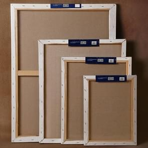 Linen Blend Primed Canvas Oil Acrylic Painting Frame 20x40cm