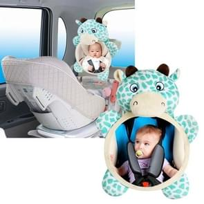 Baby Rattle Baby Car Seat Plush Toy Animal Infant Backseat Toy