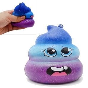 Grappig Smashing Toy Slow rebound kruk decompressie speelgoed  grootte: 7 × 7.5 cm  kleur: Starry Blue huilen