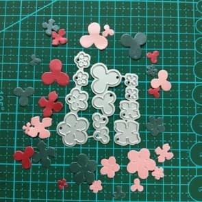3 In 1 Flower Carbon Steel Knife Mold DIY Cutting Book Album Greeting Card Making Mold