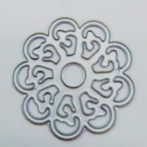 2 PCS DIY Ring Flower Carbon Steel Embossed Etching Knife Mold