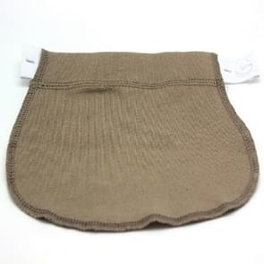 Pregnant Women May Be Adjusted To Change The Waistband Elastic Waistband Extended Buckle, Color:Khaki