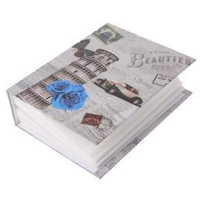6 inch 100 vellen papier Home retro album (scheve toren)