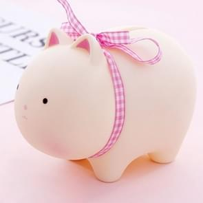 Mini Soft Cute Animal Piggy Bank for Gift or Home Decor(Rabbit)
