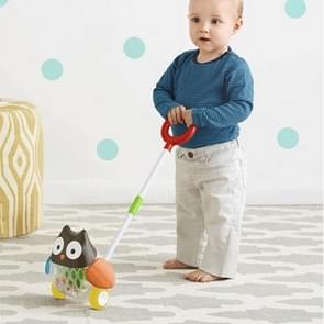 Cute Animal Kid Learn Walking Waddling Push Along Toy For Babies Toddlers