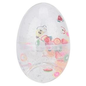 3St/set slime ei kleurrijke zachte geurende stress relief Toy plasticine speelgoed (wit)