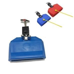 Plastic Cowbell Drum Kleuterschool Onderwijs Aid Percussion (Blue Small)