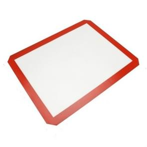 Platinum Glass Fiber Silicone Pastry Cake Cookie Baking Mat Pad Sheet Kneading Mat, Size:40x30cm