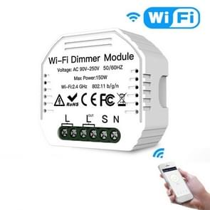 Verborgen Wifi Smart Switch Dimmer Switch en traditionele Switch Dual Control Smart Switch