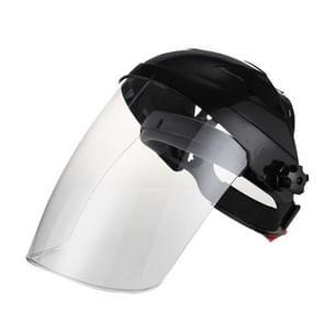 Elektrisch lasmasker aan de kop om ultraviolette lasserlaskap te beschermen