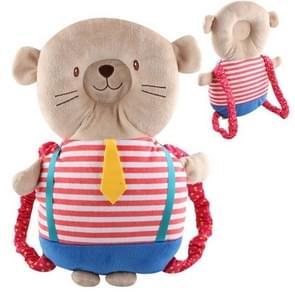 Kind veiligheid hoofdsteun baby peuter anti-Fall back pad (student dragen Bear)