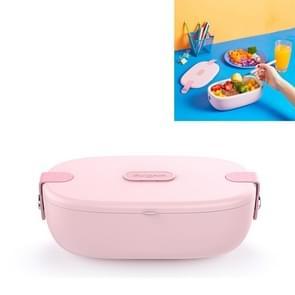 Donlim DL-1166 Lunch verwarmde lunchbox isolatie warme plug-in elektrische lunchbox  CN Plug (Roze)