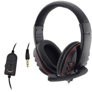 Bedrade hoofdtelefoon 3 5 mm gaming muziek microfoon voor PS4 Play Station 4 Game PC chat