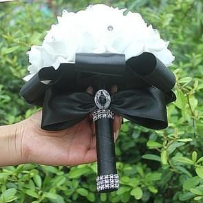 PE Wedding Foam flowers Bouquet(Black)
