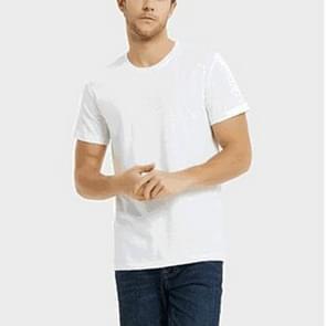 DIY foto anti-Dirty creatieve hydrofobe Stainproof ademend antifouling snel droog korte mouw T shirt  aan kaart aanpassen  grootte: XXXXL (wit)