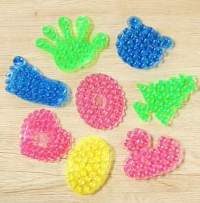 10 PCS Super Suction Double-Sided Space Sticker Magic Suction Cup,Random Color Delivery