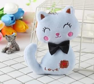 Animal Stuffed Kitty Cat Key chain Plush Dolls(Random color)