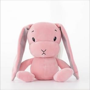 Stay Cute Rabbit Plush Toy Rabbit Doll Baby Sleep Toy, Height:50CM(Pink)