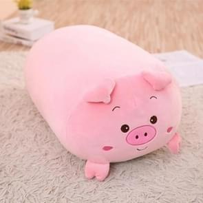 New Soft Animal Cartoon Pillow Cushion Cute Fat Dog Cat Totoro Penguin Pig Frog Plush Toy 28cm(pig)