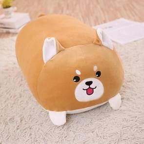 New Soft Animal Cartoon Pillow Cushion Cute Fat Dog Cat Totoro Penguin Pig Frog Plush Toy 60cm(dog)