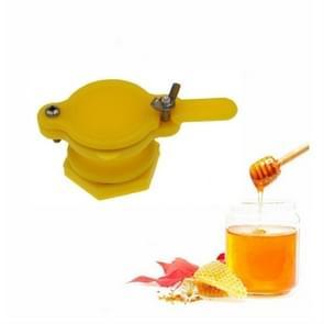 Honey machine PP stream honing mond stroom honing ventiel kraan bijenteelt tool