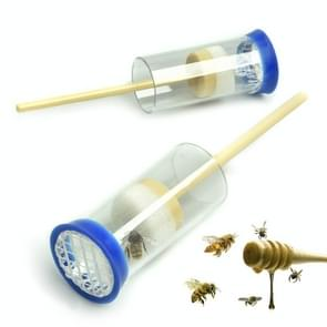 Plastic Bee Gemarkeerd Fles Bijenteelt Tools  Random Color Delivery