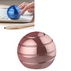 Volledig gedemonteerd roterende tafelblad bal decompressie gyroscoop tafelblad speelgoed  specificatie: diameter 45mm (Rose goud)