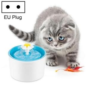 1.6L Automatic Electric Water Fountain Dog Cat Pet Drinker Bowl Drinking Fountain Dispenser(Blue)