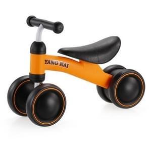 Baby Balance Bike leren lopen geen voetpedaal rijden speelgoed voor kinderen baby peuter (geel)