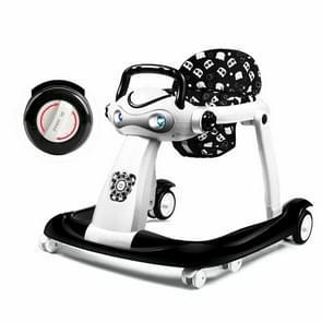 Multifunctionele baby Walker anti-rollover 6/7-18 maanden kunnen zitten kunnen opvouwbare baby wandelaar (klassieke stijl) duwen