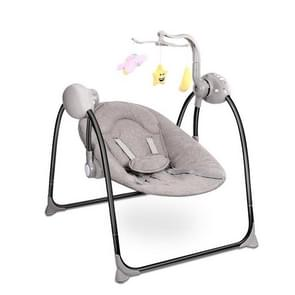 Smart Baby Electric Cradle With Remote Control Cradle Foldable Baby Swing(Grey)