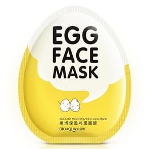 10 PCS Egg Facial Mask Smooth Moisturizing Face Mask Oil Control Shrink Pores Whitening Brighten Mask Skin Care