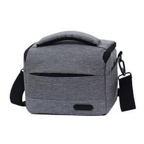 Waterproof DSLR Camera Bag for Nikon Canon SONY Panasonic etc Camera, Size:Small(Gray)