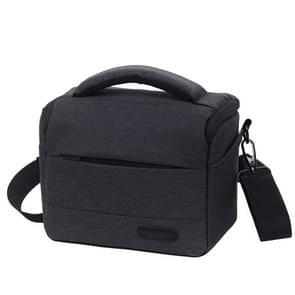 Waterproof DSLR Camera Bag for Nikon Canon SONY Panasonic etc Camera, Size:Large(Black)