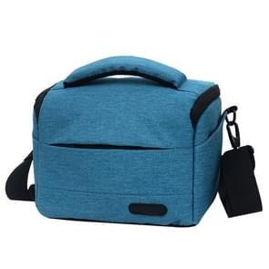 Waterproof DSLR Camera Bag for Nikon Canon SONY Panasonic etc Camera, Size:Large(Blue)