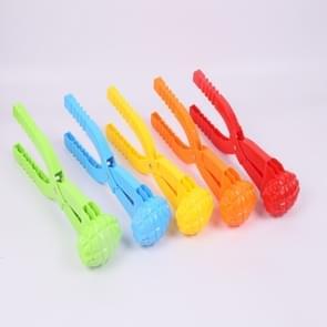 Zand mal tool Snow Ball Maker Funny outdoor sport strand speelgoed  willekeurige kleur (enkele mijne)