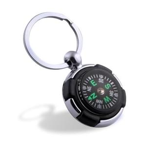 10PCS Key Chain Mini Compass Outdoor Camping Hiking Hiker Navigator Utility  Survival Tool